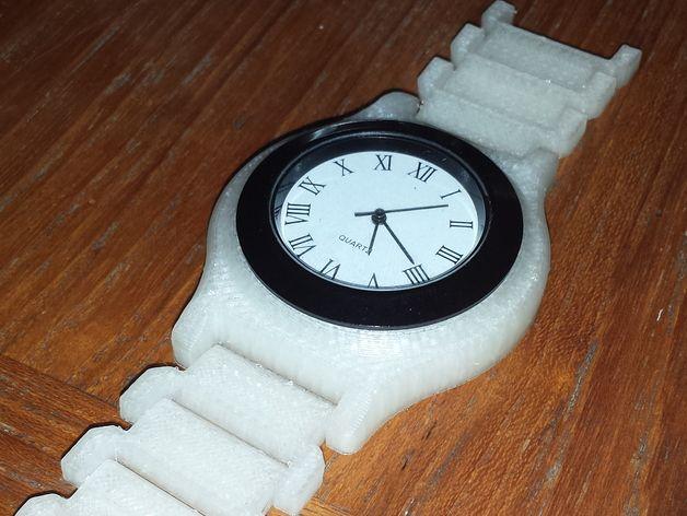 手表 3D打印模型渲染图