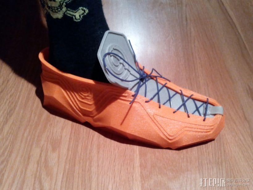 Recreus运动鞋 3D打印模型渲染图
