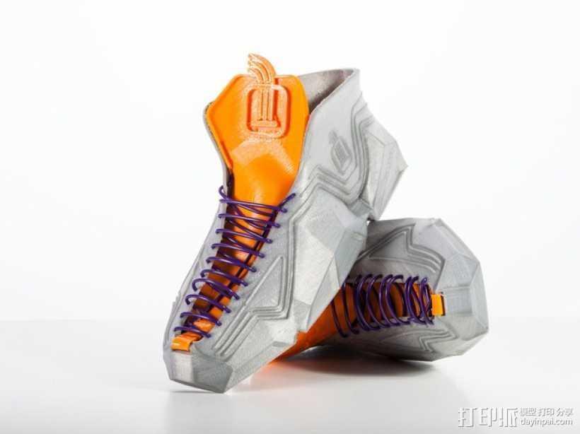 Recreus运动鞋II  3D打印模型渲染图