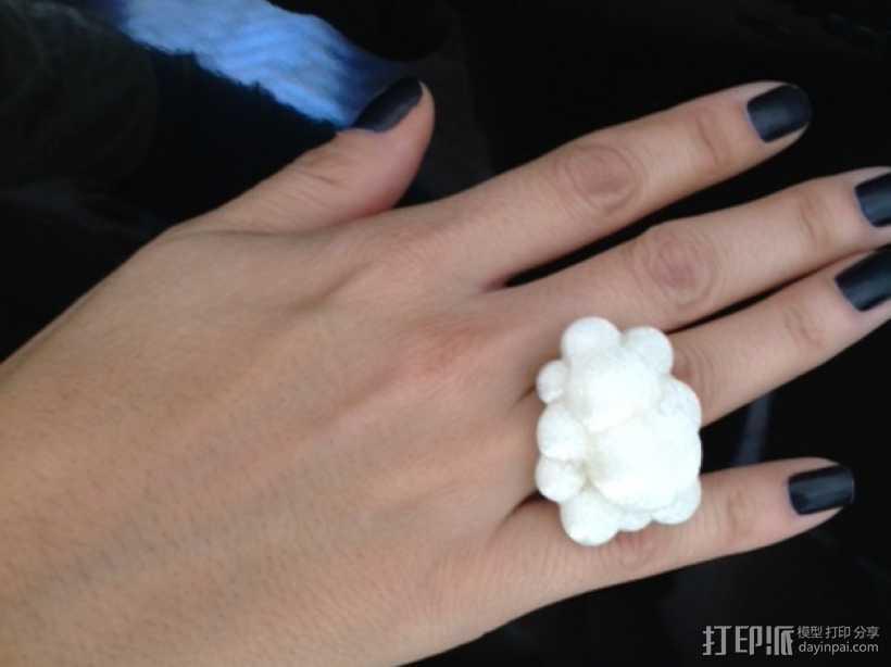 白云戒指 3D打印模型渲染图
