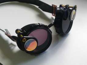 带有滤光镜功能护目镜