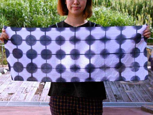 创意棉布扎染 3D打印模型渲染图
