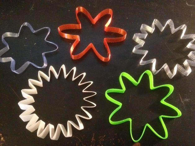 定制化SUN手环 3D打印模型渲染图