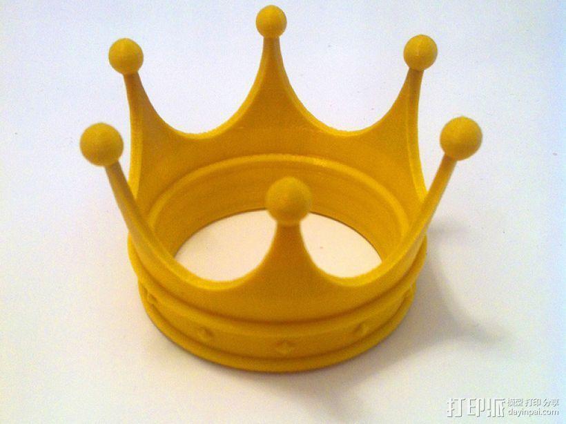王冠 3D打印模型渲染图