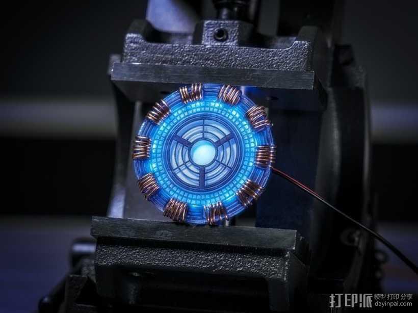超级英雄 钢铁侠 3D打印模型渲染图