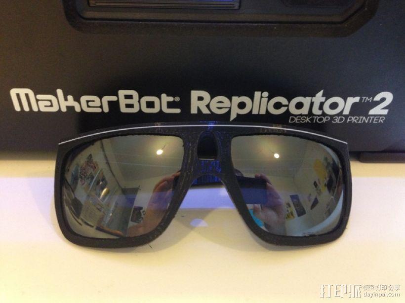 OAKLEY眼镜框 3D打印模型渲染图