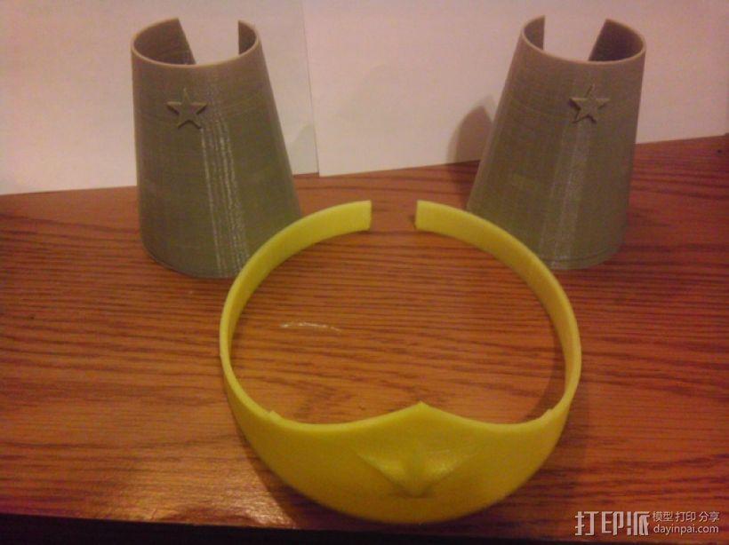皇冠和手镯 3D打印模型渲染图