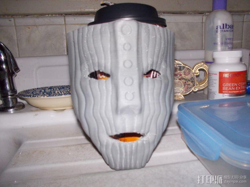洛基面具 3D打印模型渲染图