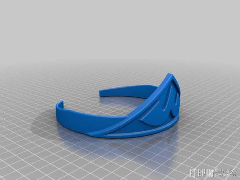 神奇女侠 皇冠 3D打印模型渲染图