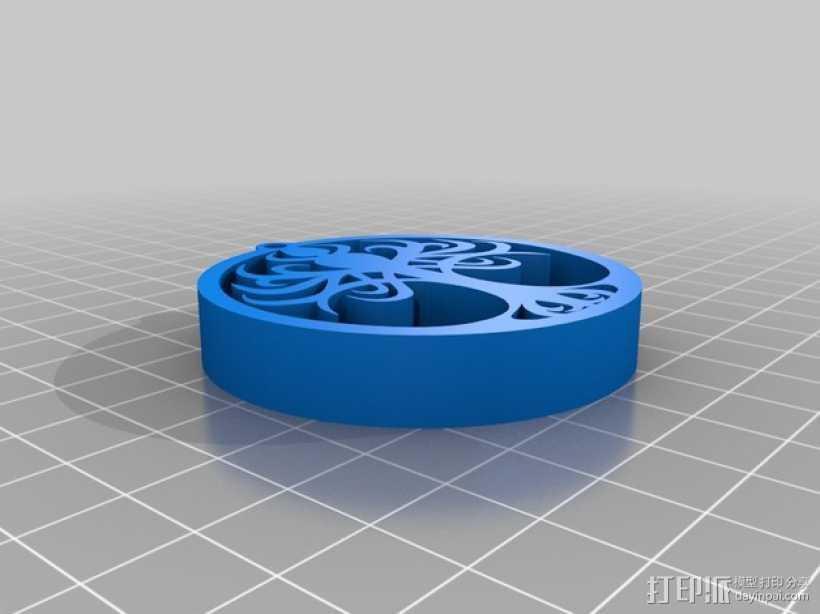 生命之树 吊坠 3D打印模型渲染图