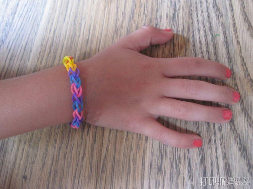 手链编织器 3D打印模型渲染图