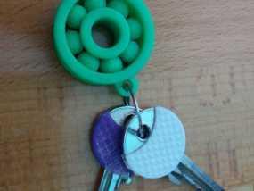 小轴承钥匙坠