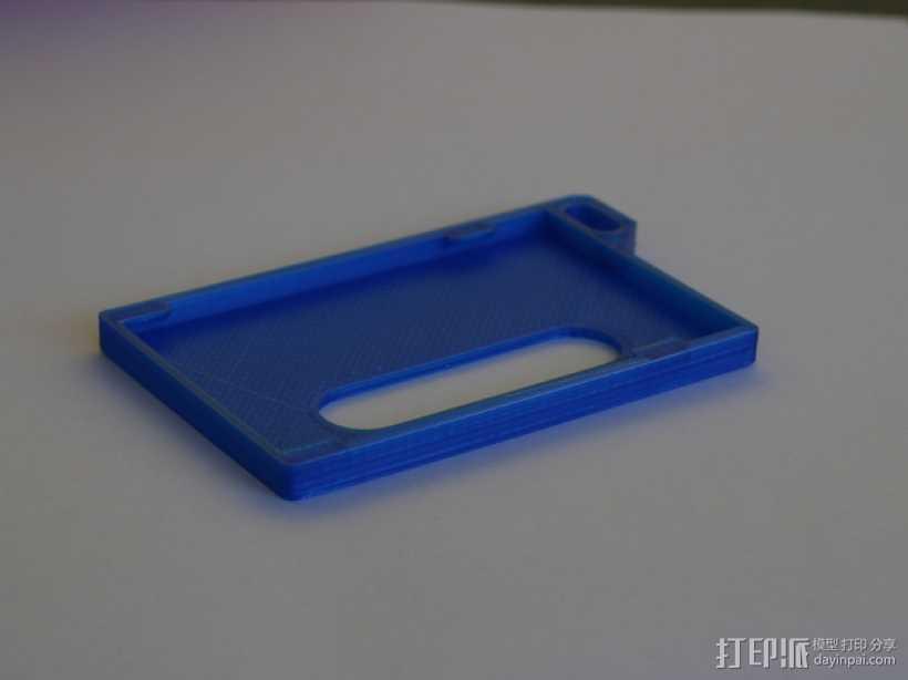 身份证 卡包 3D打印模型渲染图