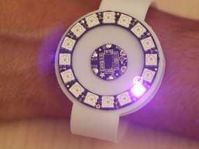 动作感应 发光手表腕带