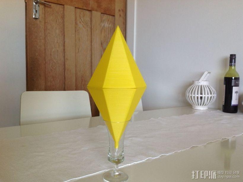 Sims西姆斯铅锤 3D打印模型渲染图