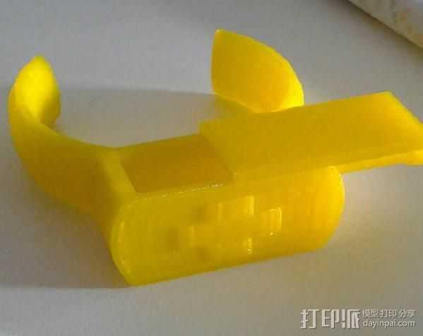 救生手镯 3D打印模型渲染图