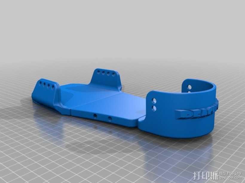 沙滩鞋 3D打印模型渲染图