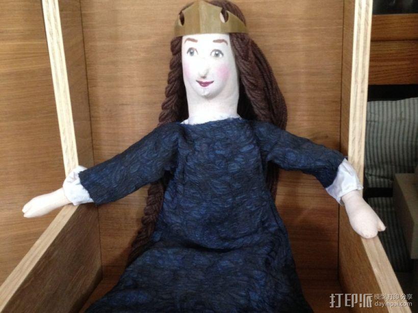 公主王冠 3D打印模型渲染图