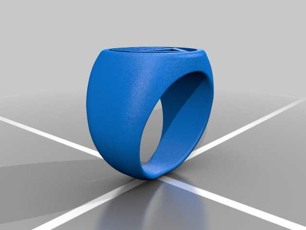 黑灯侠 戒指 3D打印模型渲染图