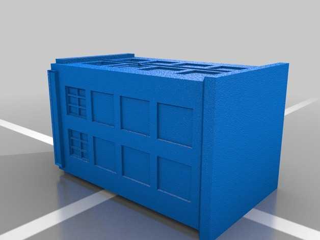 时光机 钥匙坠 3D打印模型渲染图