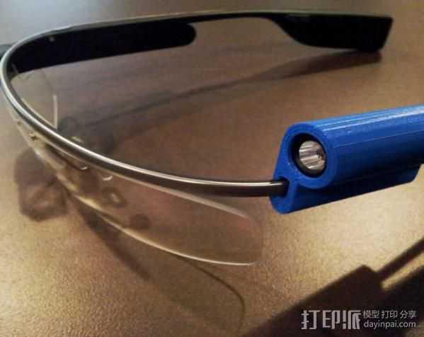 G-Torch谷歌眼镜  3D打印模型渲染图