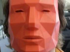 低面数 面具