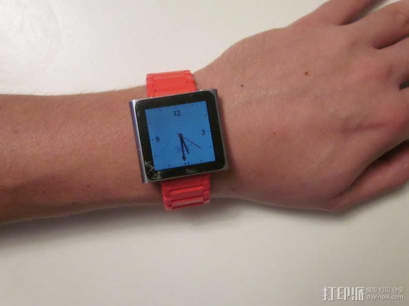 Nano 手表带 3D打印模型渲染图