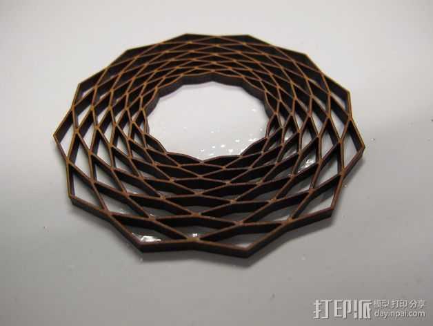 项链 3D打印模型渲染图