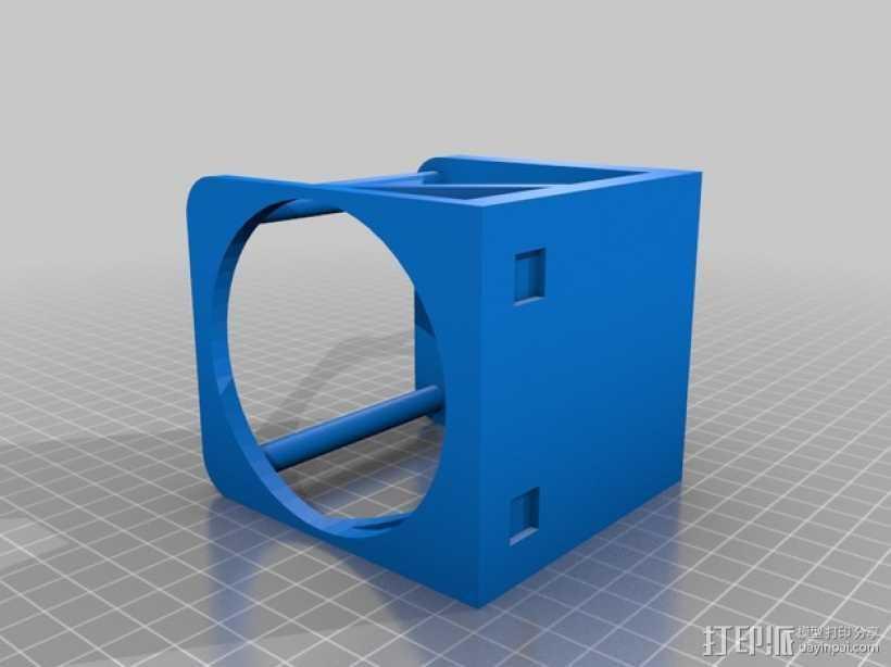 婴儿车杯架 杯托 杯座 3D打印模型渲染图