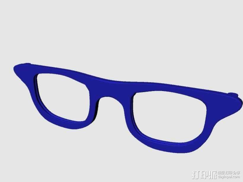 CALGARA HOND眼镜 3D打印模型渲染图