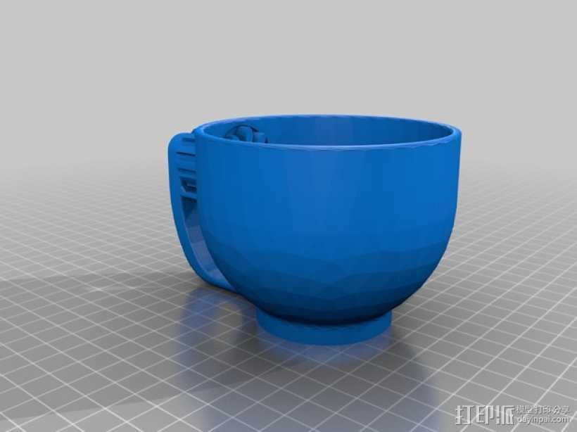 小茶杯 3D打印模型渲染图