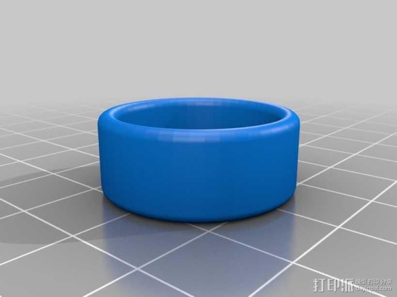 婚礼戒指 3D打印模型渲染图