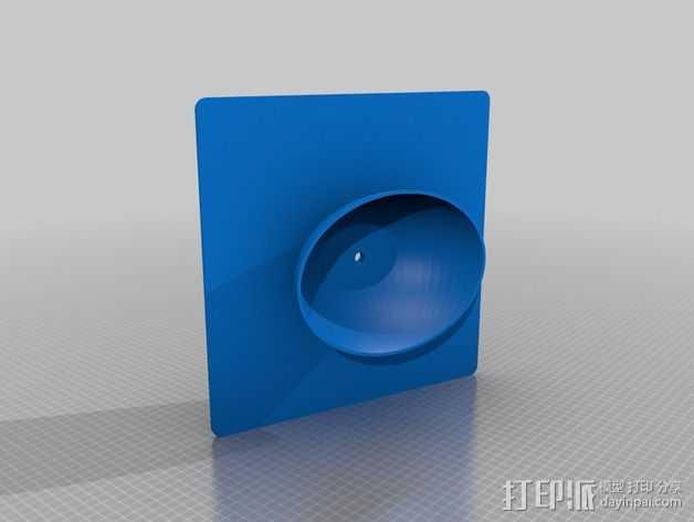 学士帽 3D打印模型渲染图