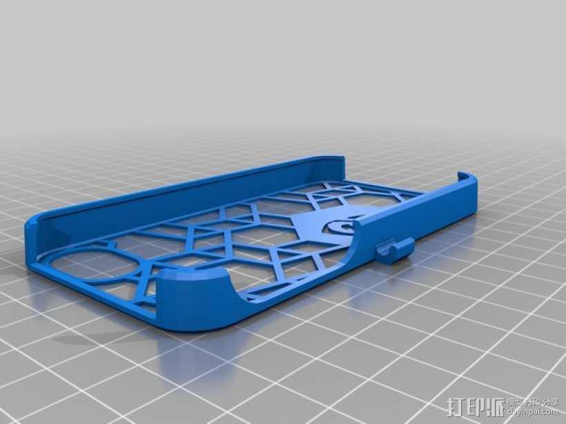 不规则图形 Iphone 手机套 3D打印模型渲染图