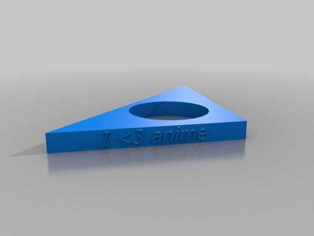 三角形 指节环 3D打印模型渲染图