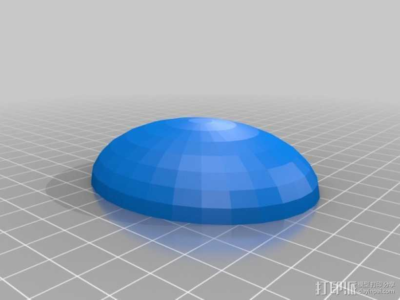 宝石 3D打印模型渲染图