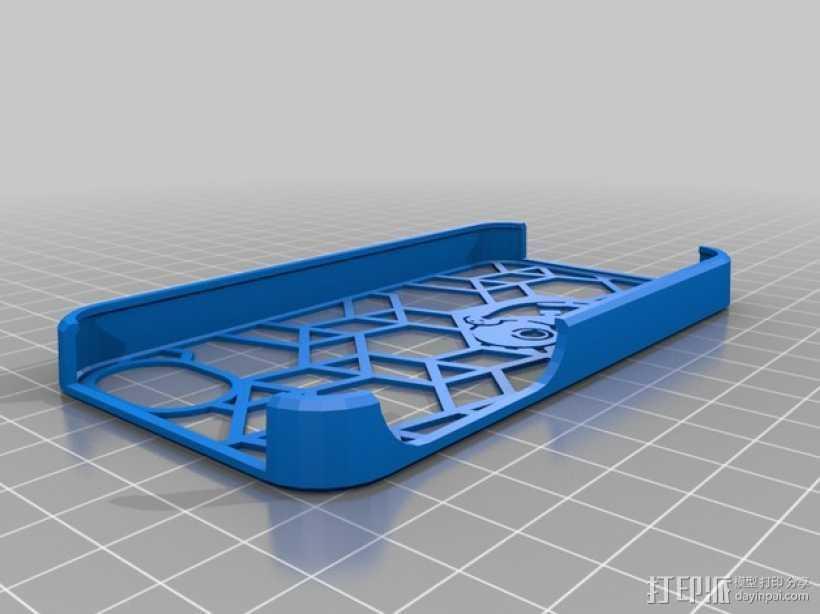 海绵宝宝 手机套 3D打印模型渲染图