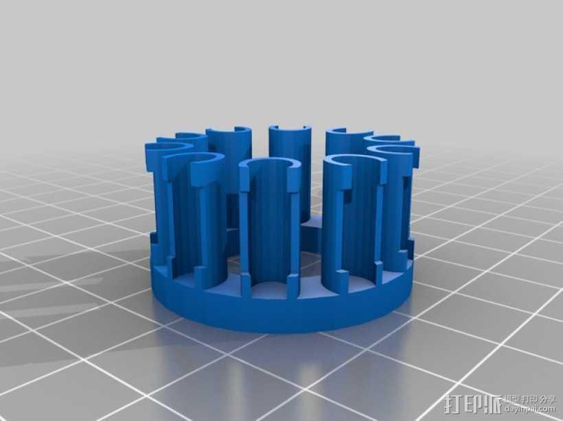 织机 3D打印模型渲染图