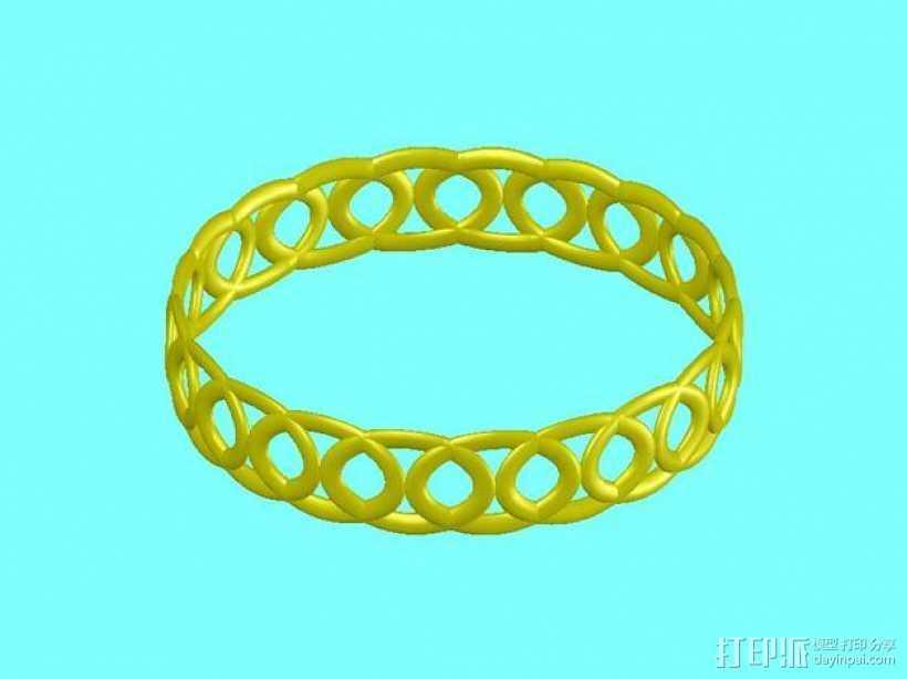戒指 指环 3D打印模型渲染图