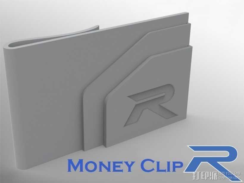 钱夹 3D打印模型渲染图