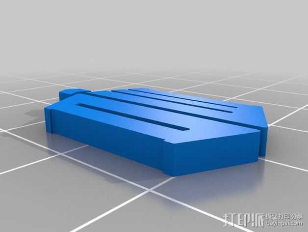 神秘博士 挂件 3D打印模型渲染图