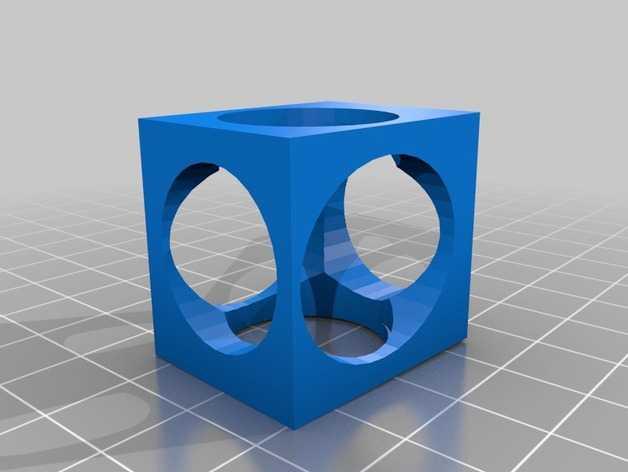 复古正方体手镯 3D打印模型渲染图