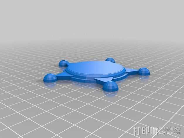州长徽章 3D打印模型渲染图