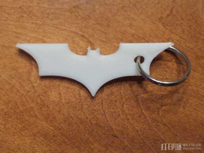 黑暗骑士 钥匙扣 3D打印模型渲染图
