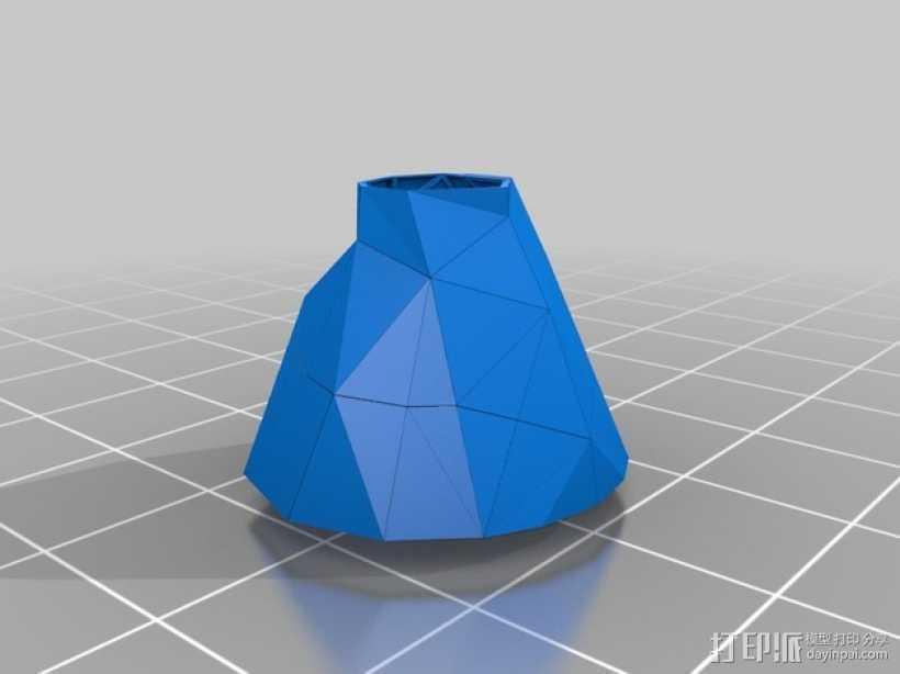 裙子 支座 3D打印模型渲染图