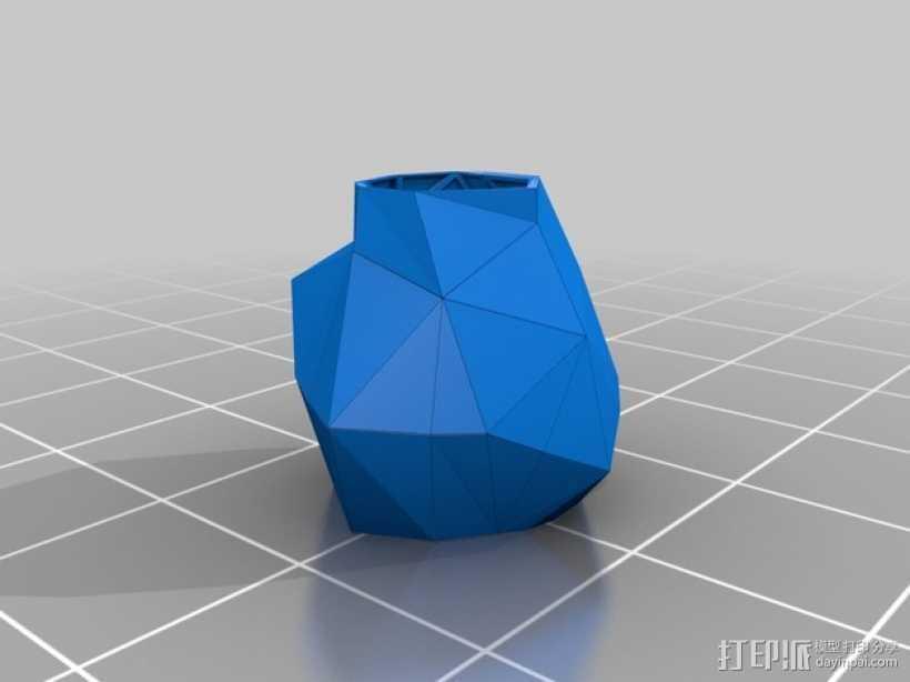 3D打印 泡芙小姐 裙子模型 3D打印模型渲染图