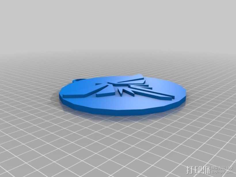 萤火虫 吊坠 3D打印模型渲染图