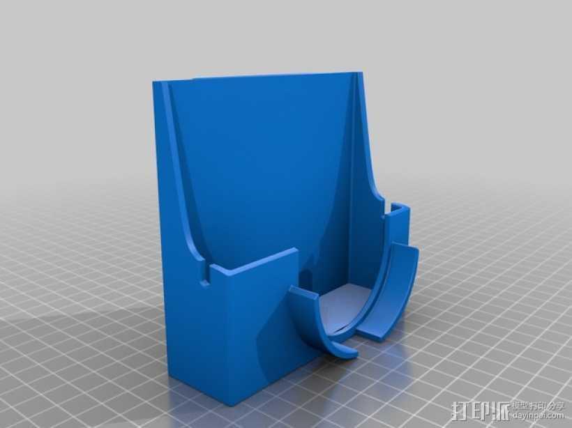 Sony RX100相机套 3D打印模型渲染图