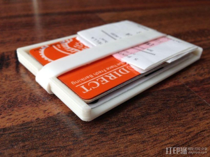 钱包 钱夹 3D打印模型渲染图
