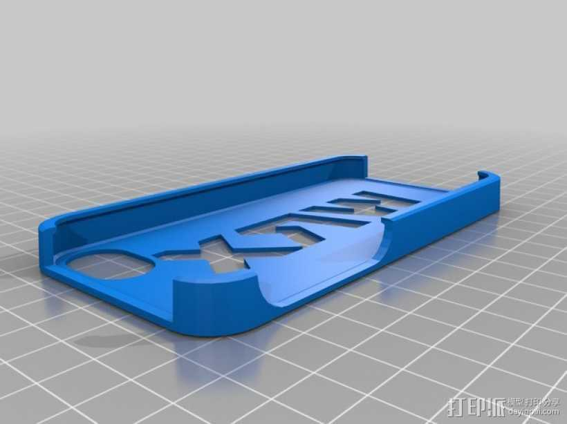 wrx手机壳 3D打印模型渲染图